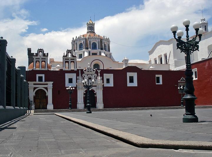 Puebla. Kościół św. Dominika.