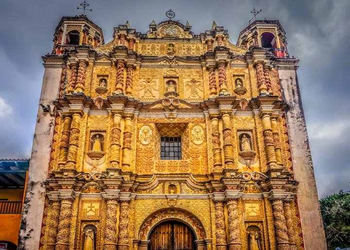 San Cristóbal de Las Casas. Kościół św. Dominika.